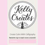 @kellycreates #newsletter #kellyletters #freebie #september #2016 #brushlettering #learn #calligraphy #worksheet #free #practice #guide