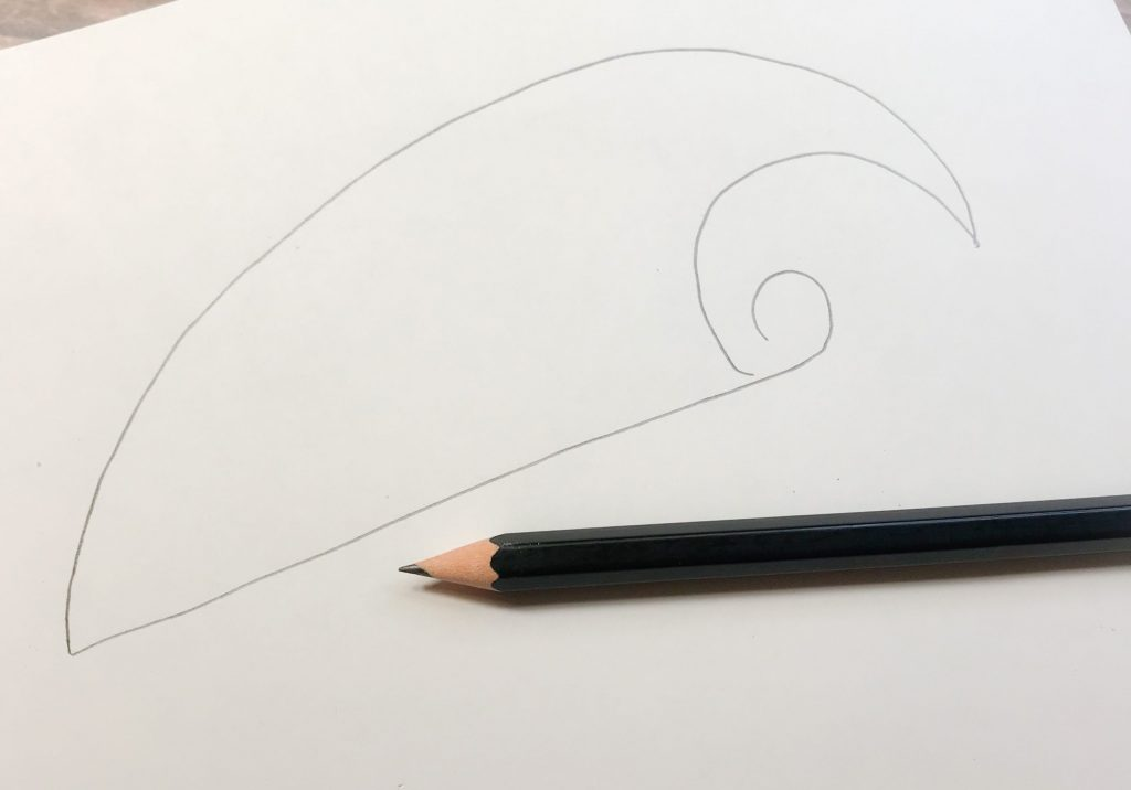 Cool Hand Lettering in a shape tutorial www.KellyCreates.ca