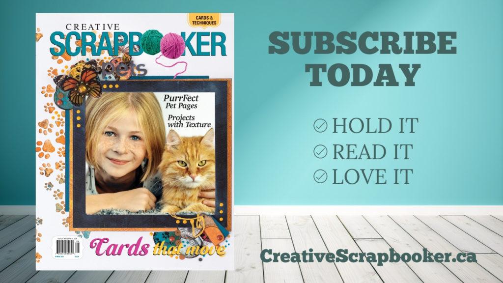 Creative Scrapbooker Magazine Lettering workshops USA