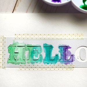 Free printable & SVG tutorial for watercolor lettering tutorial www.KellyCreates.ca