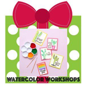 watercolor workshops online facebook kellycreates.ca