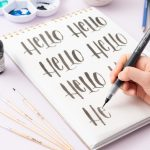 Kelly Creates lettering workbook quotes and words