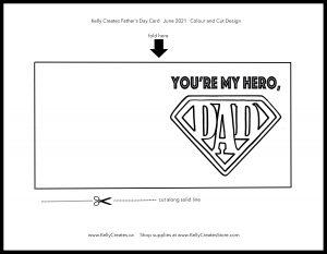 Free printable Father's Day card www.kellycreates.ca