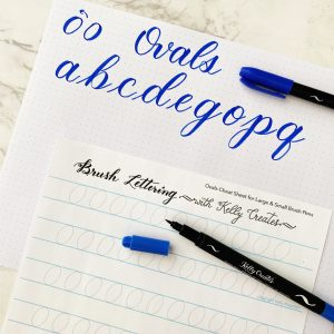 free printable modern calligraphy worksheet download learn www.kellycreates.ca